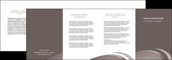 maquette en ligne a personnaliser depliant 4 volets  8 pages  web design texture contexture structure MLGI94556