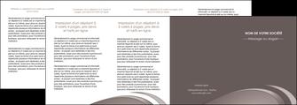 impression depliant 4 volets  8 pages  web design texture contexture structure MLGI94562