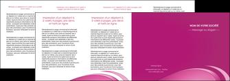 impression depliant 4 volets  8 pages  texture contexture structure MLGI94614