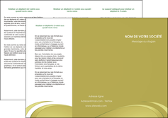 creation graphique en ligne depliant 3 volets  6 pages  texture contexture structure MLGI94624