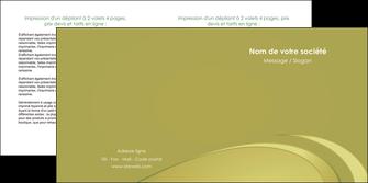 realiser depliant 2 volets  4 pages  texture contexture structure MLGI94628