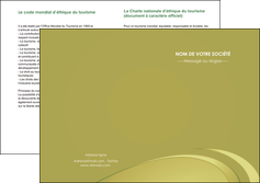 modele depliant 2 volets  4 pages  texture contexture structure MLGI94638
