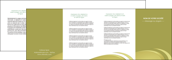 cree depliant 4 volets  8 pages  texture contexture structure MLGI94660