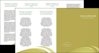 imprimerie depliant 4 volets  8 pages  texture contexture structure MLGI94664