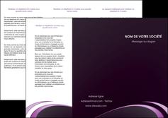 modele en ligne depliant 3 volets  6 pages  web design texture contexture structure MLIG94746