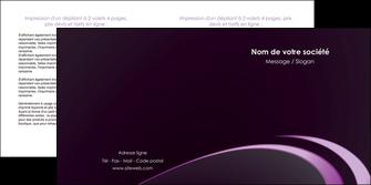 faire depliant 2 volets  4 pages  web design texture contexture structure MLIG94750