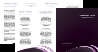 imprimerie depliant 4 volets  8 pages  web design texture contexture structure MLGI94786