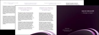 faire depliant 4 volets  8 pages  web design texture contexture structure MLGI94788