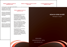 creation graphique en ligne depliant 3 volets  6 pages  web design texture contexture structure MLGI94798