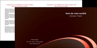 faire modele a imprimer depliant 2 volets  4 pages  web design texture contexture structure MLGI94802