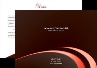 personnaliser maquette set de table web design set de table set de table publicitaire restaurant MLGI94832