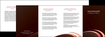 personnaliser modele de depliant 4 volets  8 pages  web design texture contexture structure MLGI94834