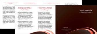 exemple depliant 4 volets  8 pages  web design texture contexture structure MLGI94840