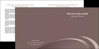 imprimerie depliant 2 volets  4 pages  web design texture contexture structure MLGI94854