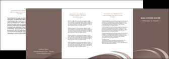 faire modele a imprimer depliant 4 volets  8 pages  web design texture contexture structure MLGI94886