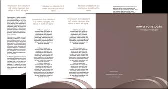 personnaliser maquette depliant 4 volets  8 pages  web design texture contexture structure MLGI94890