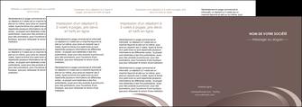 faire depliant 4 volets  8 pages  web design texture contexture structure MLGI94892