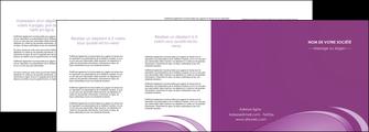 imprimerie depliant 4 volets  8 pages  reseaux texture contexture structure MLGI94960