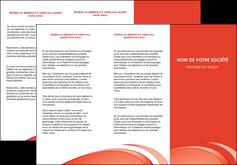 cree depliant 3 volets  6 pages  web design texture contexture structure MLGI94976
