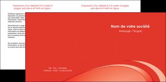 personnaliser modele de depliant 2 volets  4 pages  web design texture contexture structure MLGI94980