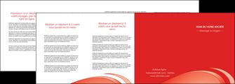 faire modele a imprimer depliant 4 volets  8 pages  web design texture contexture structure MLGI95012