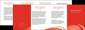 maquette en ligne a personnaliser depliant 4 volets  8 pages  web design texture contexture structure MLGI95018