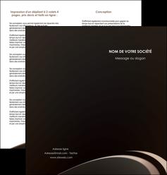 creer modele en ligne depliant 2 volets  4 pages  web design texture contexture structure MLIG95030