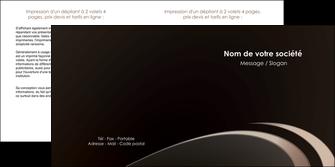 faire modele a imprimer depliant 2 volets  4 pages  web design texture contexture structure MLIG95032