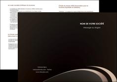 personnaliser modele de depliant 2 volets  4 pages  web design texture contexture structure MLIG95042
