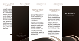 creation graphique en ligne depliant 4 volets  8 pages  web design texture contexture structure MLIG95068