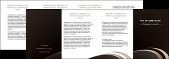 maquette en ligne a personnaliser depliant 4 volets  8 pages  web design texture contexture structure MLIG95070