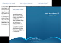 creer modele en ligne depliant 3 volets  6 pages  web design texture contexture structure MLGI95094