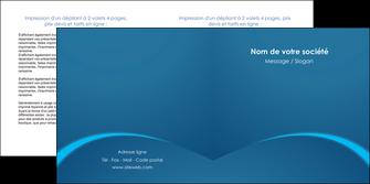 cree depliant 2 volets  4 pages  web design texture contexture structure MLGI95098