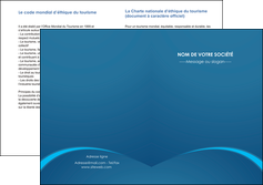 modele depliant 2 volets  4 pages  web design texture contexture structure MLGI95108