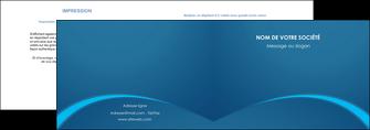 imprimerie depliant 2 volets  4 pages  web design texture contexture structure MLGI95114