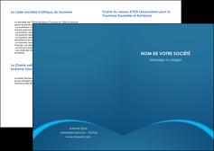 creer modele en ligne depliant 2 volets  4 pages  web design texture contexture structure MLGI95122