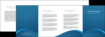 cree depliant 4 volets  8 pages  web design texture contexture structure MLGI95130