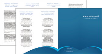 personnaliser modele de depliant 4 volets  8 pages  web design texture contexture structure MLGI95134