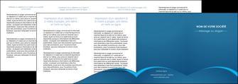 personnaliser modele de depliant 4 volets  8 pages  web design texture contexture structure MLGI95136