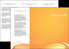 modele depliant 3 volets  6 pages  web design texture contexture structure MLGI95198