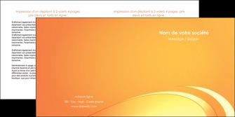 imprimer depliant 2 volets  4 pages  web design texture contexture structure MLGI95202