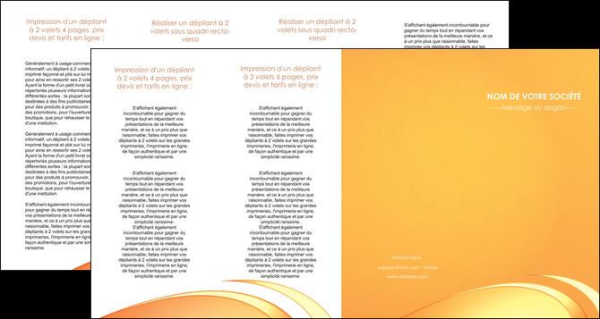 modele depliant 4 volets  8 pages  web design texture contexture structure MLGI95238