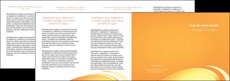 maquette en ligne a personnaliser depliant 4 volets  8 pages  web design texture contexture structure MLGI95240