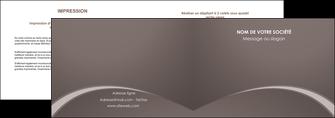 creer modele en ligne depliant 2 volets  4 pages  web design texture contexture structure MID95268