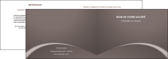 cree depliant 2 volets  4 pages  web design texture contexture structure MID95270