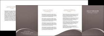 cree depliant 4 volets  8 pages  web design texture contexture structure MID95286