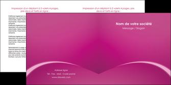 personnaliser modele de depliant 2 volets  4 pages  web design texture contexture structure MLGI95306
