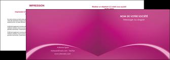 personnaliser maquette depliant 2 volets  4 pages  web design texture contexture structure MLGI95320