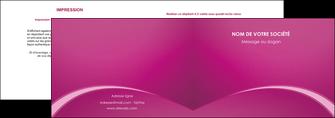 personnaliser maquette depliant 2 volets  4 pages  web design texture contexture structure MLGI95322