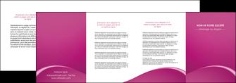 creer modele en ligne depliant 4 volets  8 pages  web design texture contexture structure MLGI95338